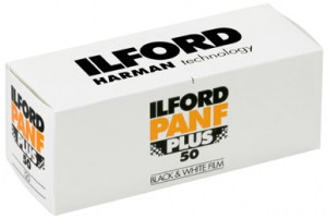 Ilford Panf Plus 50 120